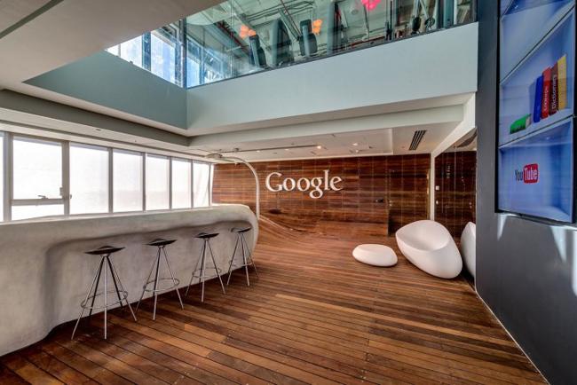 Sự sáng tạo của Google là không giới hạn, điều đó phần nào thể hiện qua cách trang trí văn phòng của họ tại Tel Aviv, Israel.