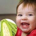 Làm mẹ - Ăn khổ qua bé mau mọc răng?