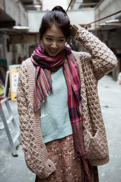 Diện đồ len chất như Park Shin Hye trong 'Mỹ nam nhà bên' - 19
