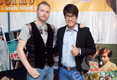kyo york banh bao den ung ho thanh hung idol - 1