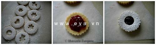 banh linzer cookies thom ngon kieu ao - 4