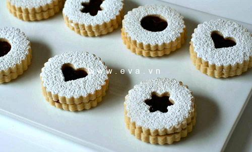 banh linzer cookies thom ngon kieu ao - 5