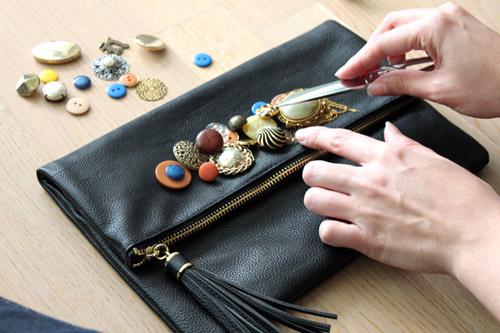 Eva khéo tay: Trang trí xắc tay cực nổi bằng cúc áo - 3