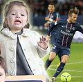 Làng sao - Harper hí hửng đi cổ vũ bố Beckham