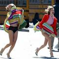 Clip Eva - Trò đùa chị em mặc váy cần cẩn thận