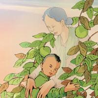 Truyện cổ tích: Sự tích cây vú sữa