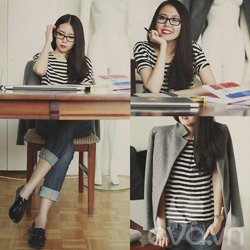 Eva Icon: Cô nàng chững chạc với gam trung tính-3