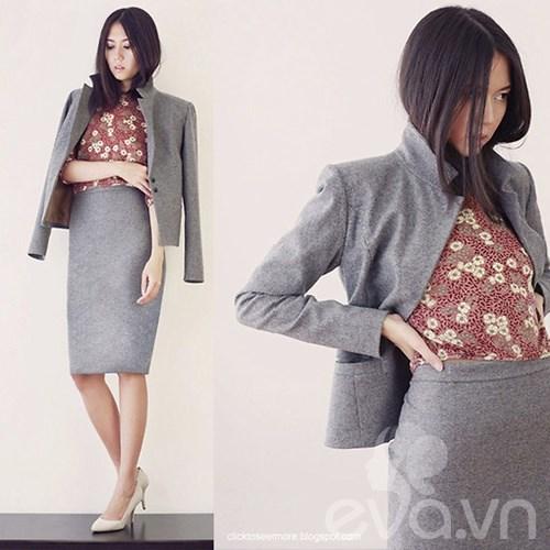 Eva Icon: Cô nàng chững chạc với gam trung tính-10