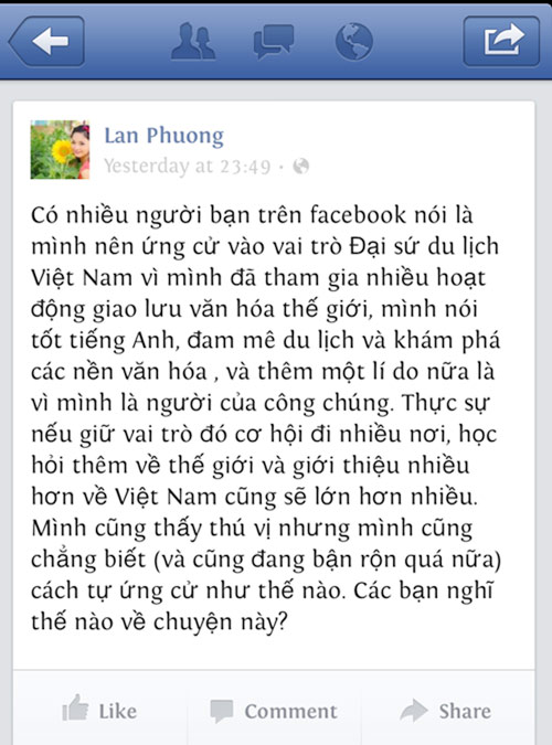 """lan phuong """"danh tieng"""" muon thay ly nha ky - 1"""