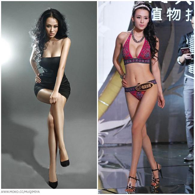 Ngắm 15 cặp giò nuột nhất làng hotgirl Châu Á