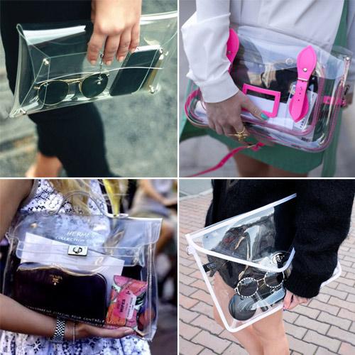 Eva khéo tay: Rảnh rỗi làm túi trong suốt-1