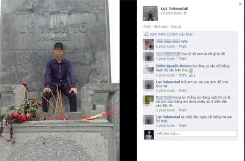 phan no nam sinh ngoi len tuong dai vua ly thai to - 1