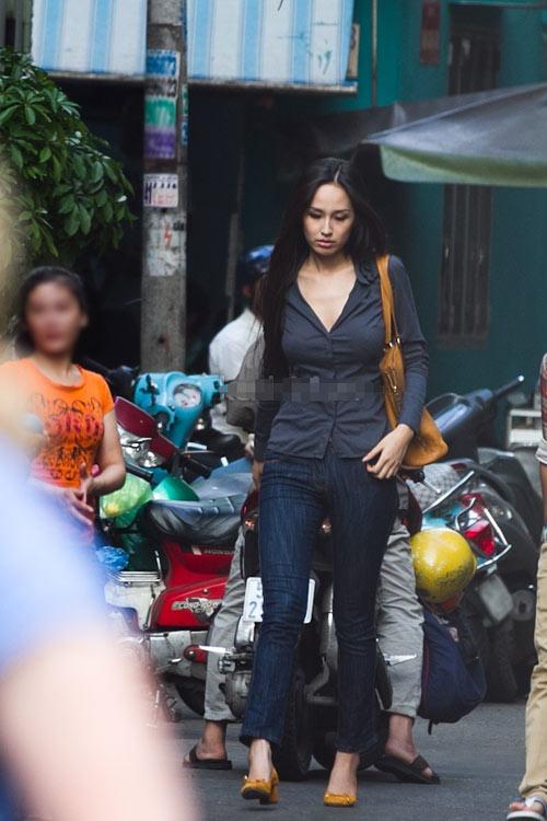 mai phuong thuy 'mat diem' vi jeans - 10