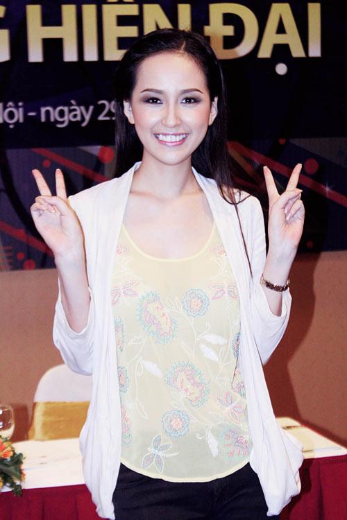 mai phuong thuy 'mat diem' vi jeans - 4