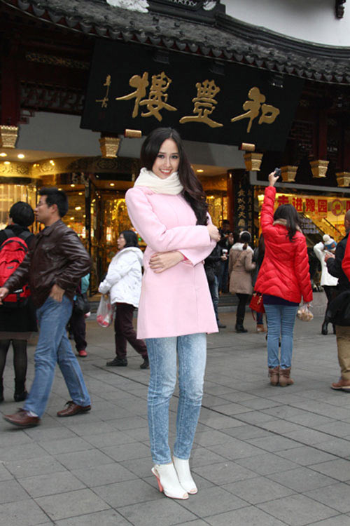 mai phuong thuy 'mat diem' vi jeans - 8