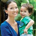 Làng sao - Bằng Lăng yên phận bên chồng con ở Thái Lan