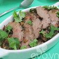 Bếp Eva - Tim lợn nấu rô-ti nước dừa