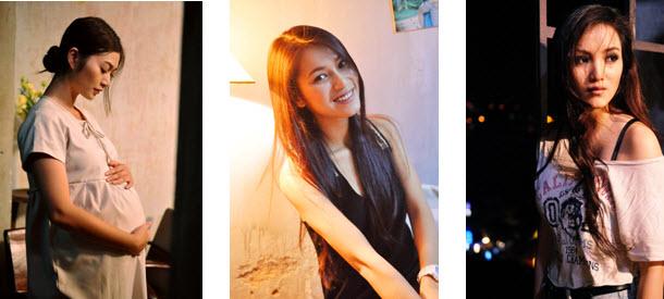 """chuyen tinh yeu cua 3 my nhan """"bui doi"""" - 1"""