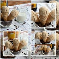 Cách làm kem từ rượu và cafe ngon