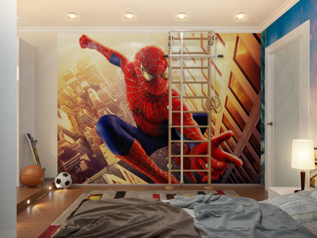 Người nhện là một trong số những siêu anh hùng được rất nhiều các bé trai yêu thích.