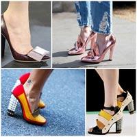 Giày đế vuông - Cơn sốt đến từ thời trang 1960