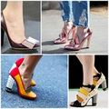 Thời trang - Giày đế vuông - Cơn sốt đến từ thời trang 1960