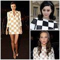 Thời trang - Váy kẻ ô bàn cờ Louis Vuitton phủ sóng giải trí