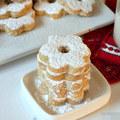 Bếp Eva - Bánh Canestrelli hình hoa - nhìn là muốn ăn
