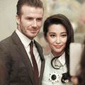 Làng sao - Lý Băng Băng duyên dáng bên David Beckham