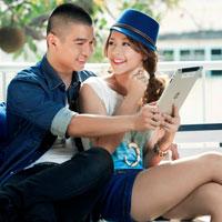 Cường Seven-Chi Pu yêu qua tin nhắn thoại