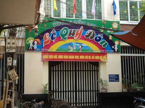 phan no nan bao hanh tre o truong mam non - 1