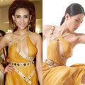 Thời trang - 'Long nữ lang' đụng hàng váy 'thảm họa' của Hoàng Yến