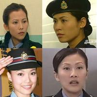 Những mỹ nhân TVB xinh hớp hồn trong vai cảnh sát