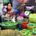 Kinh nghiệm mua - Giá thực phẩm tại chợ Long Biên 28-3