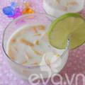 Bếp Eva - Xoài dầm sữa chua nha đam