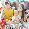 Làng sao - Mỹ Lệ, Nathan Lee thăm trẻ em ung bướu