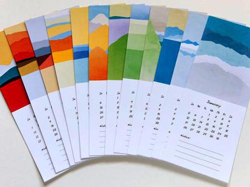 10 mau lich thoi trang cho nha dep 2014 - 2
