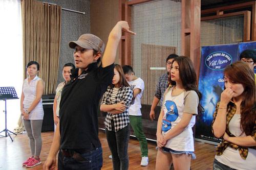 """top 12 vietnam idol kho luyen de """"bung no"""" - 3"""