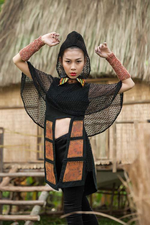 lan phuong next top manh me nhu nui rung tay nguyen - 4