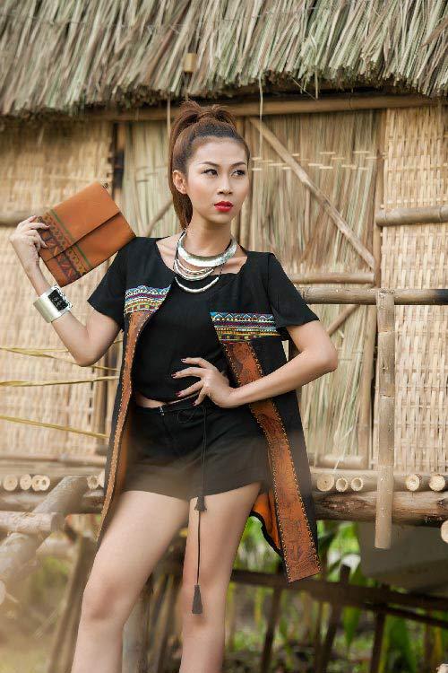 lan phuong next top manh me nhu nui rung tay nguyen - 5