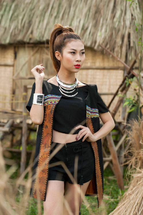 lan phuong next top manh me nhu nui rung tay nguyen - 7