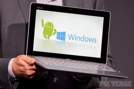 intel tham vong chay android va windows tren cung mot may tinh - 1