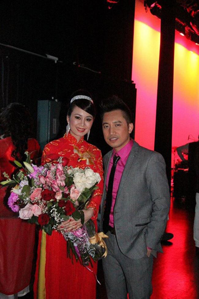 Nguyễn Mỹ Vân - Hoa Hậu Phu Nhân thế giới Người Việt 2013 tại Canada. Cô được cho là người yêu mới của danh ca Bằng Kiều.