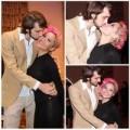 Làng sao - Mai Khôi tóc ánh hồng, hôn chồng say đắm