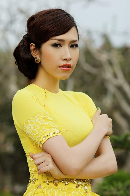 phan thu quyen an tuong voi gam vang chanh - 4