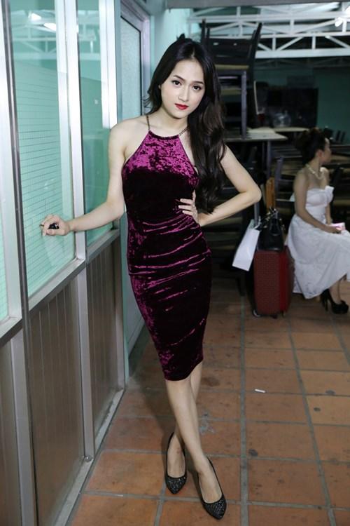 "huong giang idol sexy ""tu nha ra pho"" - 12"