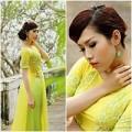 Làng sao - Phan Thu Quyên ấn tượng với gam vàng chanh