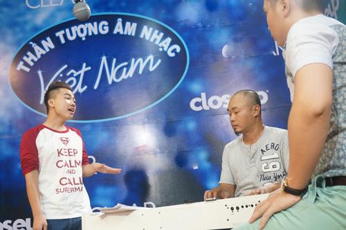 "top 9 idol ""toat mo hoi""chuan bi cho dem gala - 4"