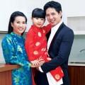 Làng sao - Gia đình Bình Minh rộn ràng đón Tết
