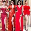 """Thời trang - """"Tuyệt sắc giai nhân"""" trắng nõn nhờ sắc đỏ"""